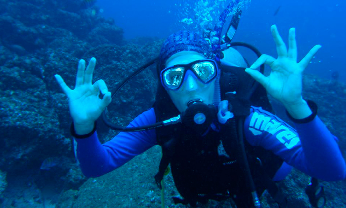 Diving and Spanish
